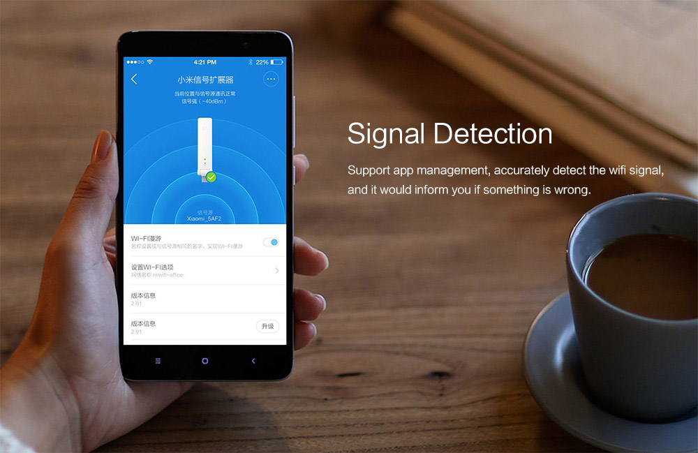 Xiaomi WIFI Repeater 2 Universal Repitidor Wi-Fi Extender 2 Amplificador 300Mbps Extende Signal Enhancement Wireless Routers (7)
