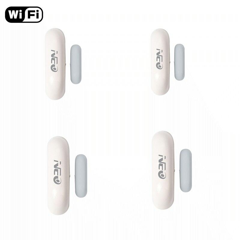 Promotion Price Exquisite Design Wifi Door Window Sensors Door magnetic window Detector Control by Tuya smart app
