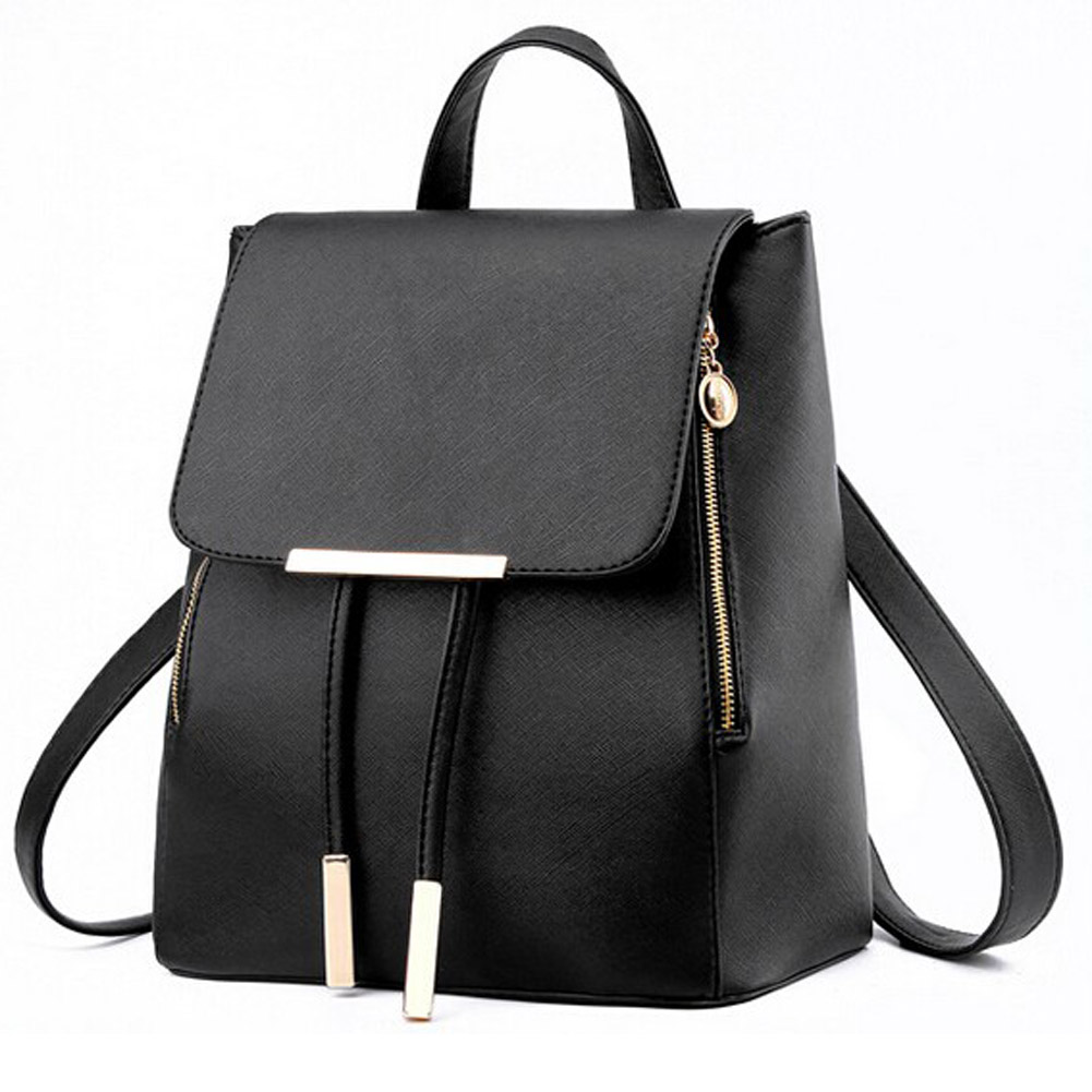 Fashion Women Backpack Casual Leather School Backpack for Teenage ... 8ef1f44c59259