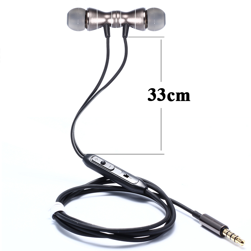 Headset for Xiaomi Redmi Note 4X 4 3 5 5a Pro Prime 3s 4a mi 6 5s mi4c mix 2s max 2 Mi a1 5X 6 Bass Stereo Earphone With Mic image