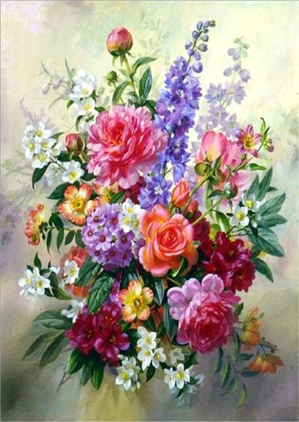 Painting Flower Cross
