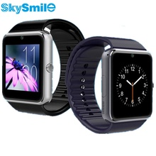 SkySmile Smart Watch GT08 Clock Sync Notifier Smartwatch Bluetooth Connectivity Android Phone For Apple Iphone 6 Support SIM TF
