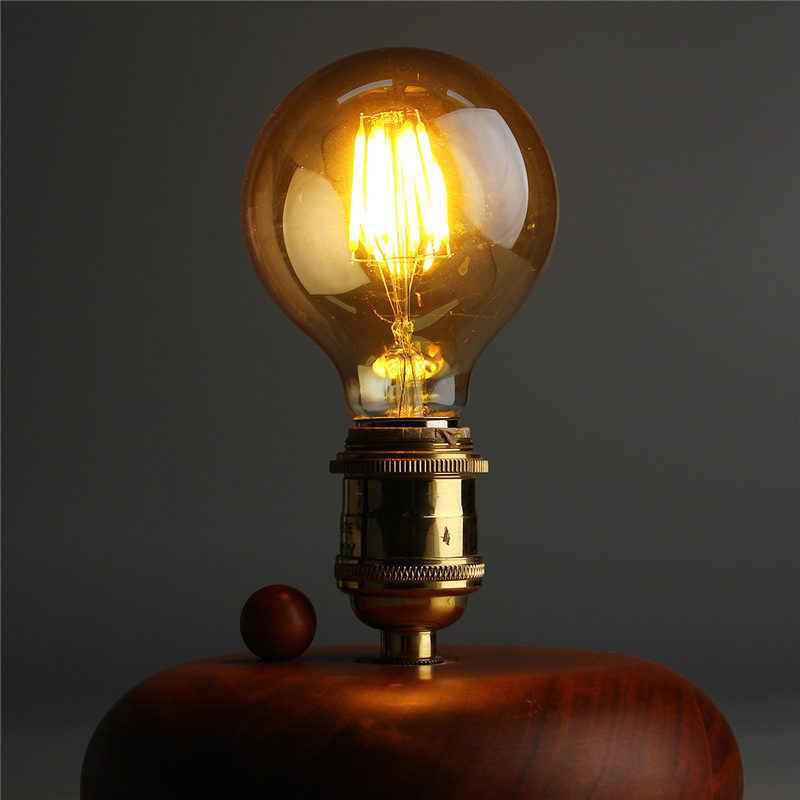 Vintage lumière LED ampoule Edison E27 B22 G80 Dimmable 6 W rétro Globe lumière lampe Filament ampoule 220 V pour la maison Bar décor éclairage