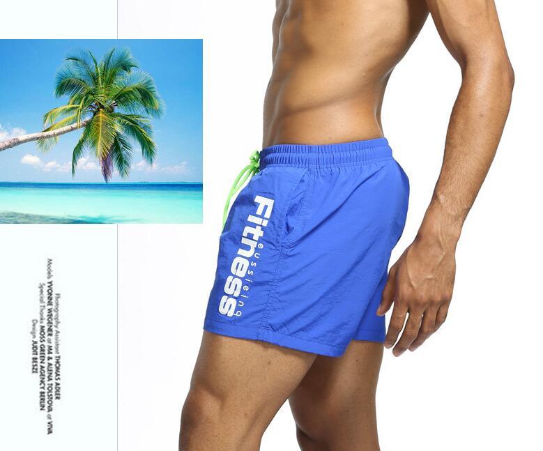 2018 Brand Quick Drying   Board     Shorts   Trunks Mens Beach   short   Bermuda MasculinaDe Marca Homme   Shorts