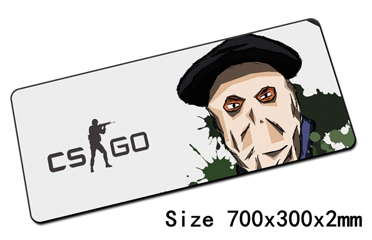 cool cs go padmouse 700x300mm pad to mouse notbook computer mousepad locked edge gaming mouse pad gamer to laptop mouse mat