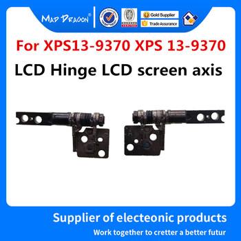Nowy oryginalny laptop nowy oryginalny 13 3 calowy ekran LCD zawias LCD oś L + R dla Dell XPS13-9370 XPS 13 9370 9380 LCD zawias tanie i dobre opinie MAD DRAGON Lcd zawiasy