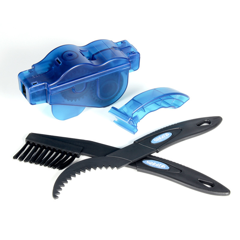 Bicycle Chain Cleaner Scrubber Brushes Mountain Bike Wash Tool Set Cycling Cleaning Kit Bicycle Repair Tools