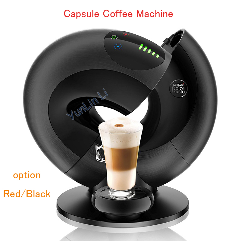 Automatisk kapselkaffismaskin 1500W intelligent pekskärm Capsule kaffebryggare italiensk espressomaskin EDG736