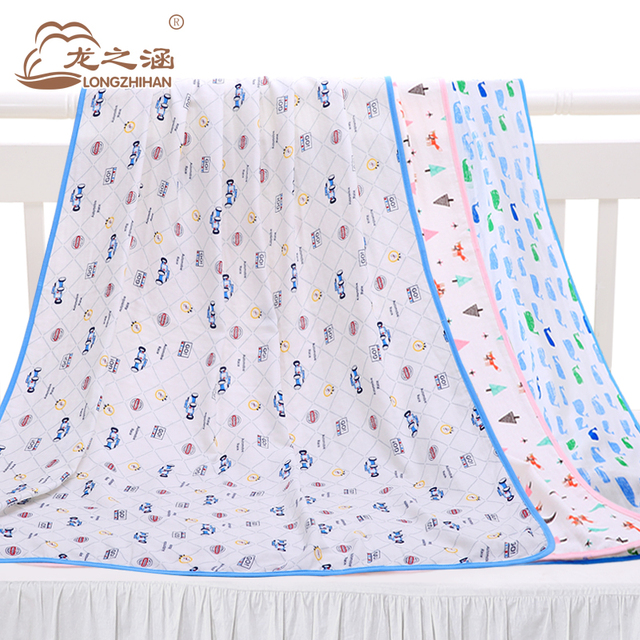 Baby Blankets Newborn Muslin Cotton Top Brand Swaddle Blanket Infant