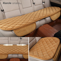 Karcle Universal Car Seat Cover Thicken Soft Silk Velvet Car Seat Pad Protector Car Styling Cushion