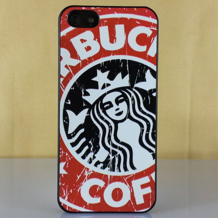 Painted Starbucks Case apple iphone 4s 5s variety patterns PC case 4 5 ultra-thin protective vans-MC Vog - Find Me Catalog store