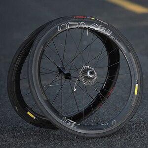 Image 5 - Roval CLX50 Wheelset Dán cho xe đạp Đường Bộ 700C xe đạp Roval Carbon Clincher decal phù hợp với cho 50mm độ sâu 2 bánh xe đề can