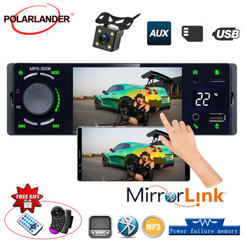 Car Multimedia Player Autoradio Car radio 1din 4.1 touch screen auto audio mirrorlink Android stereo bluetooth rearview camera image