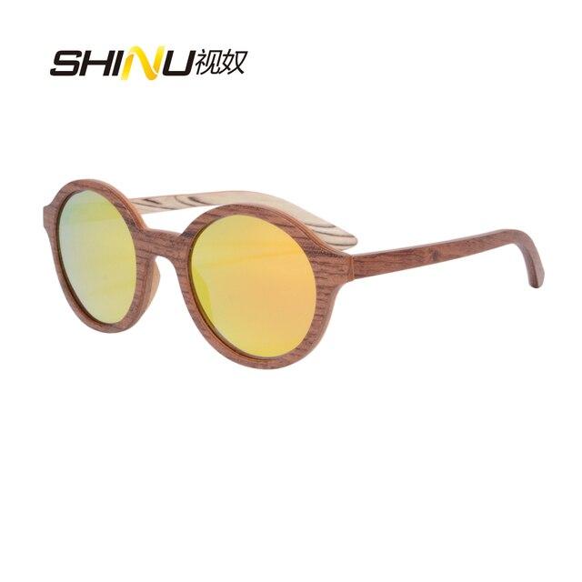 ATNI-UVA UVB Polarzied Revestimento de Espelho Óculos de Sol de Madeira  Feitos À 909990b100