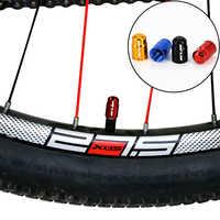 2 pièces en aluminium vélo pneu Valve capuchon ultra-léger montagne route vélo pneu bouchon Schrader/Presta pneu Valve protecteur vtt accessoires