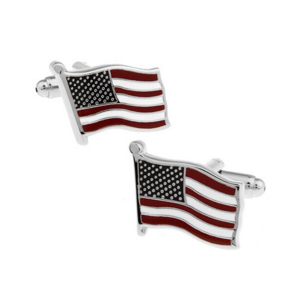 New USA Flag Cufflink Classical Cuff Link Biggest Promotion ...