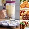 Keythemelife Cake Pancake Muffins Baking Waffles Batter Dispenser Cream Speratator Measuring Cup Baking Tools For Cupcakes