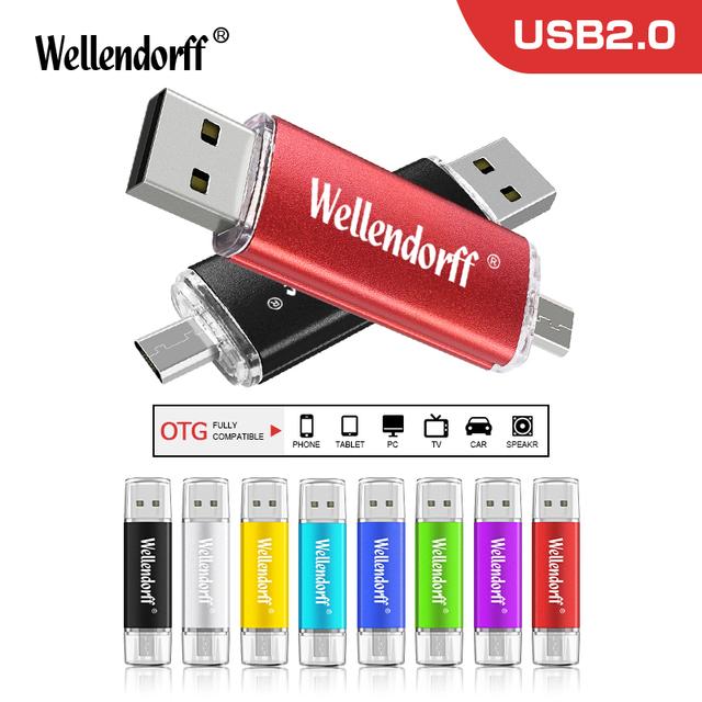 2018 New Arrival OTG pen drive 4GB 8GB 16GB 32GB 64GB small colorful swival Flash Drive USB Flash Drive for Mobile Phone/PC