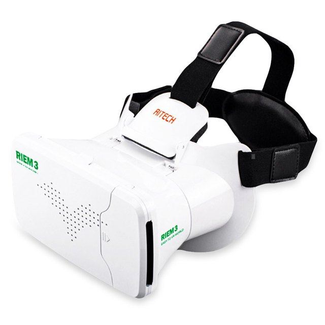 348b526b4c Special Design RITECH Riem 3 Virtual Reality 3D VR Glass Head Mounted  Headset Private Theater for