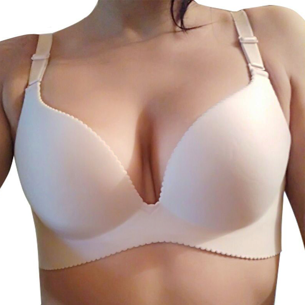 bda81cab6fd93 Detail Feedback Questions about Bras For Women Sexy Seamless Underwear  Women Push Up Bra Comfortable Wire Free Bralette Lingerie Top AA A B C D  Cup on ...