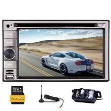 Autoradio PC Car DVD Player MP4 In Dash MP5 Navi Digital TV EQ RDS Radio Stereo GPS Auto Universal 3D Movie