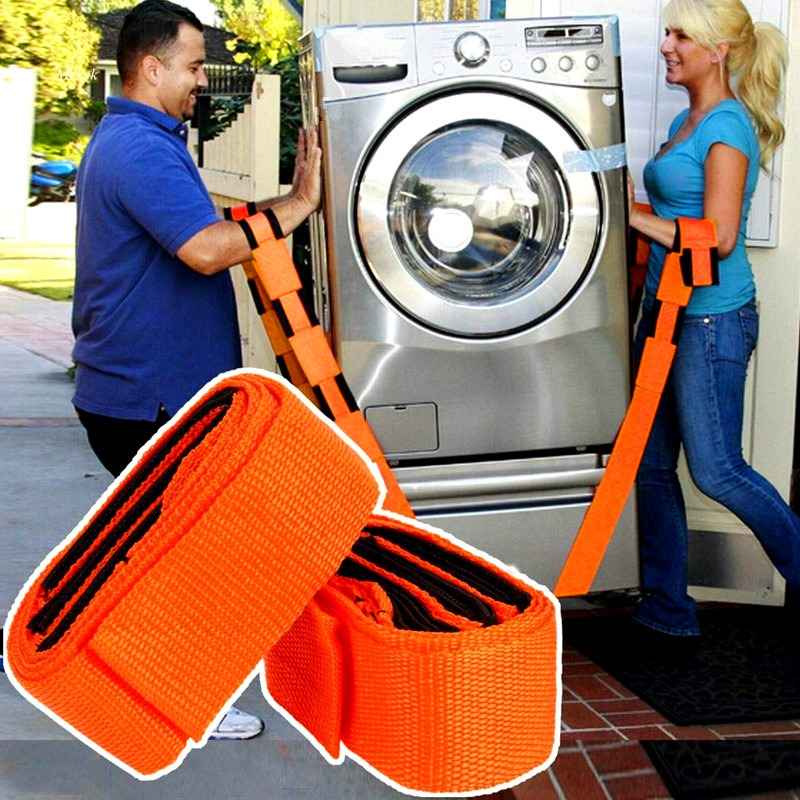 4x Forearm Lifting Moving Strap Furniture Transport Belt Easier Carry Rope Cheap Price Retail Forearm Forklift Lifting Moving Furniture