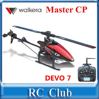 Walkera Master CP 6 Axis Gyro Mini 6CH 3D Flybarless RC Helicopter With DEVO 7 Transmitter