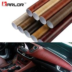 60x500 cm Matt selbstklebende Holzmaserung Strukturierte Vinyl Film Car Wrap PVC Wasserdichte Auto Dekoration auto Aufkleber Styling