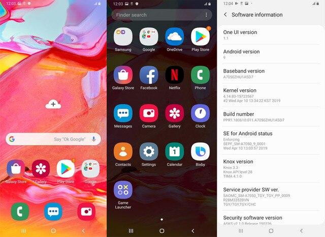 Samsung Galaxy A70 /a7050 6GB/128GB Full Screen Mobile Phone Large Screen Fingerprint Dual Card Dual Wait 4
