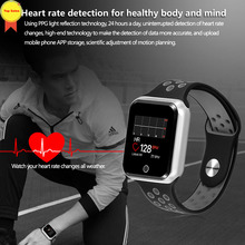 Multi-sport smart watch support Dynamic heart rate Blood pressure sleep monitor Bluetooth 4 smartwatch for Android iOS men women цена