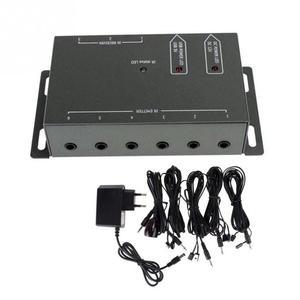 Image 2 - Ir extensor remoto transponder 1 receptor 4 emissores infravermelho sistema repetidor