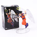 Dragon ball z anjo vitrine dramática quinta temporada vol.1 banpresto son goku pvc figura collectible toy modelo encaixotado