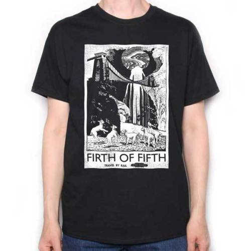Shop ShirtsPremium O-Neck Short-Sleeve Inspired by Genesis T shirt Firth Of Fifth Travel Poster A Prog Rock Tribute Tee Shirts