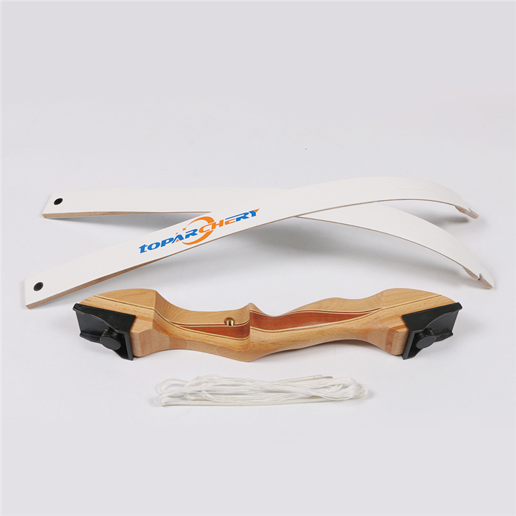 1 piece laminated takedown wood recurve bow youth training bow 48 inch 20lbs cs games 1 piece takedown recurve bow