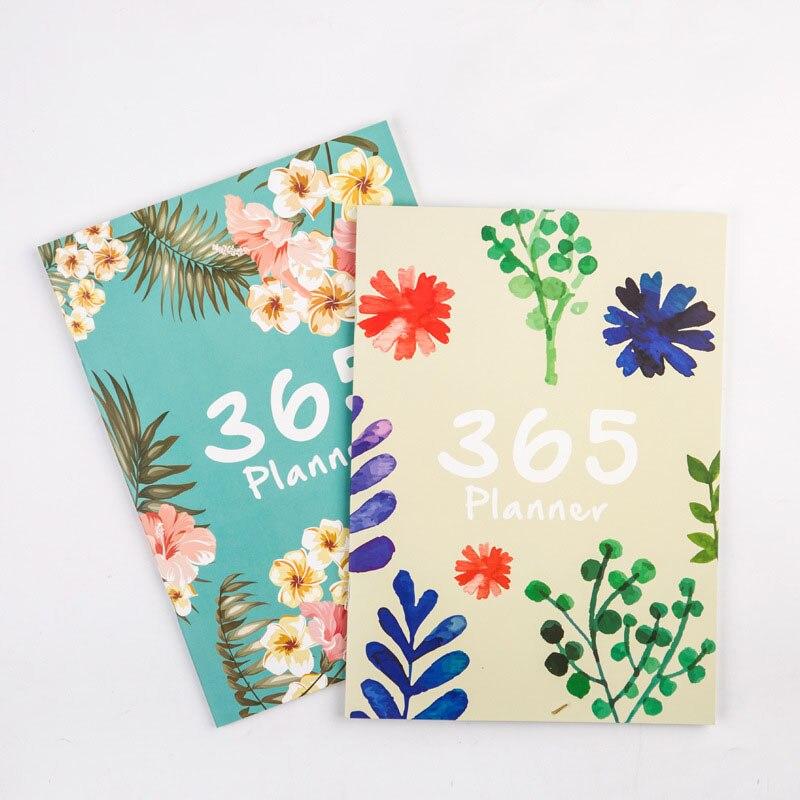 1 Pc 365 Tage A4 Agenda Zeitplan Notebook Chancery Monatliche Wöchentlich Planer Tagebuch Veranstalter Papeleria Kawaii Koreanische Schreibwaren