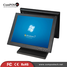 15 Inch 5 Wire Resistive LCD Touch Screen Monitor With 15 inch Led Screen Monitor