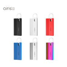 Original AIRIS J Battery Box Mod Built-in 420mAh Battery Electronic Cigarette Mod For 14x5.7mm Pod Cartridges Airistech Vape Mod eleaf istick pico baby battery mod
