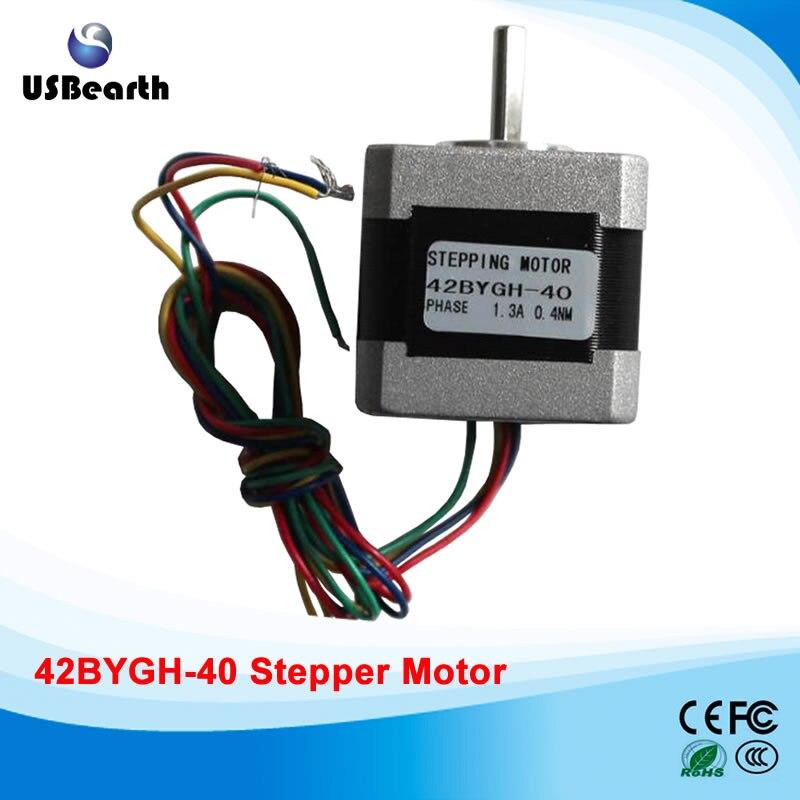 42BYGH-40 Stepper motor micro-stepping motor drive current 1.3A 0.4NM body 40mm for engraving machine bruuns bazaar блузка с принтом