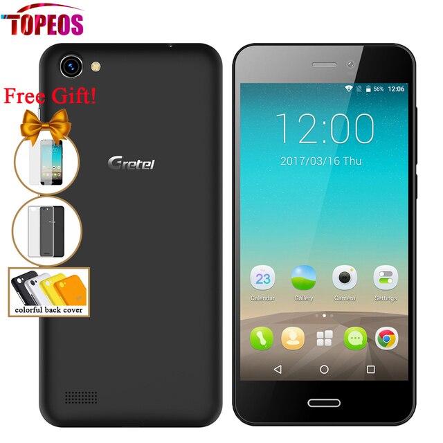 Gretel A7 4.7 inch Quad Core Android 6.0 Cellphone 1GB RAM 16GB ROM MTK6580 1.3GHz 8MP 720*1280 Dual SIM 3G WCDMA GPS Phone