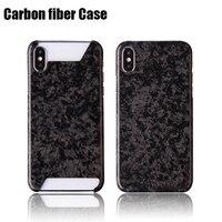 Top Quality New Pattern Super Sport Car Accessories Carbon Fiber Cover For iPhone8 7 7Plus Carbon Fiber Phone Cases For iPhoneX