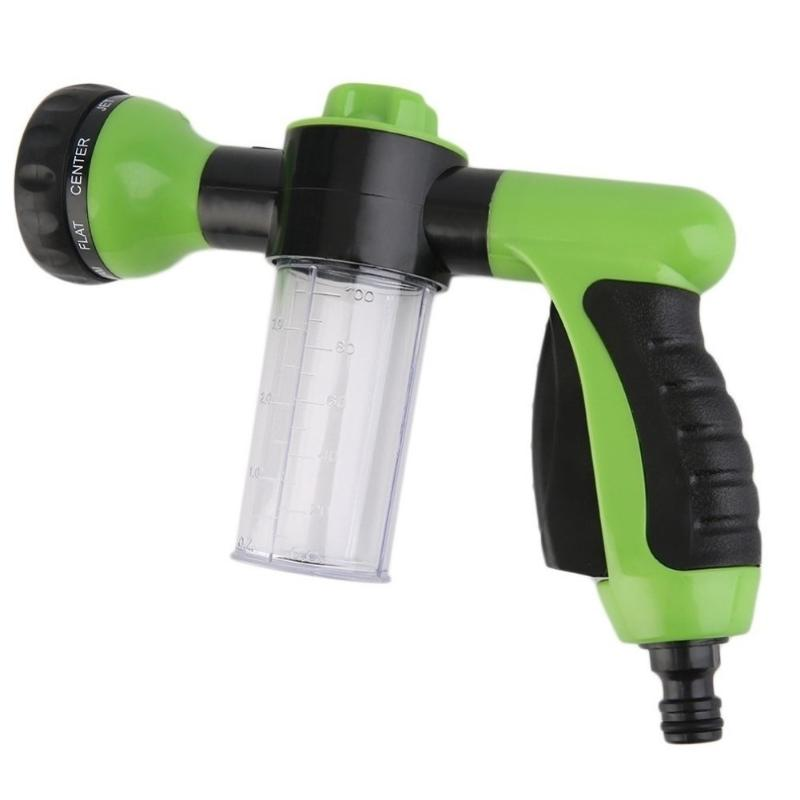 Multifunction Portable Auto Car Foam Water Gun High Pressure Car Washer Water Flow Control Cleaning Washing Gun Tools metal hose nozzle high pressure water spray gun sprayer garden auto car washing