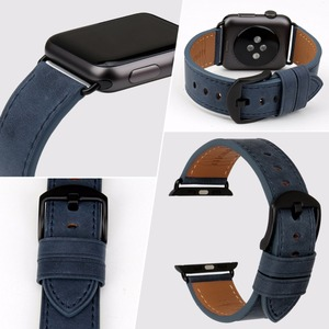 Image 3 - MAIKES High Quality Leather Watch Strap For Apple Watch Band 42mm 38mm / 44mm 40mm Series 4/3/2/1 All Models iWatch Watchband