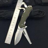 Sanremu 7098 LUE PP faca dobrável lâmina 12c27 pa66 + gf lidar com acampamento ao ar livre caça multi funcional ferramenta edc bolso facas Facas    -