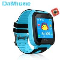 Детские Смарт часы с gps трекером, микро сим карта, звонок, детский фотоаппарат, сигнализация с защитой от потери положения, Смарт часы для реб