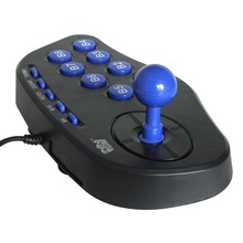 USB PC Street Fighter Joystick Double Shock Arcade Game Stick Gamepad Controller Gaming Game Pad For