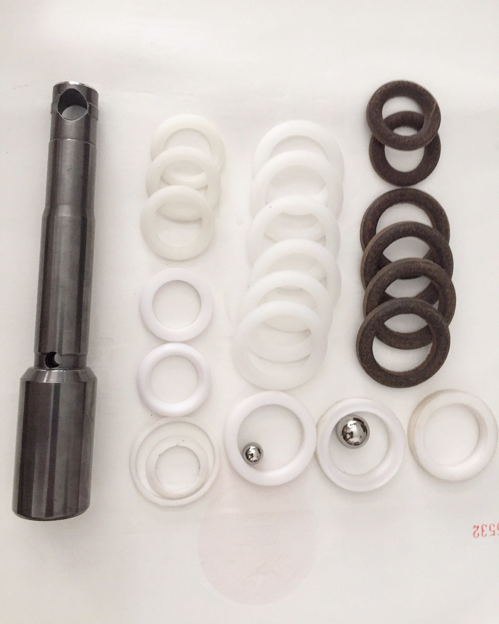 Airlessco Pump Repair Kit For 460 540 690 Airless Sprayer Spare Parts 331-210 331210 With 331708 Piston Rod 331-708