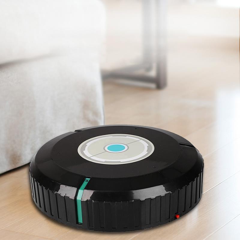 Auto Intelligent Propre Balayage Vadrouille Microfibre Vide Robot Accueil Duster Outil De Nettoyage dans Main Push Balayeuses de Maison & Jardin