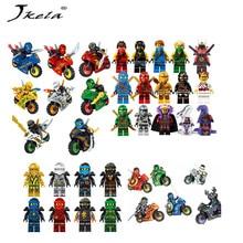 Jkela 258A Hot Ninja Motorcycle Building Blocks Bricks toys Compatible legoINGly Ninjagoed Ninja for kids