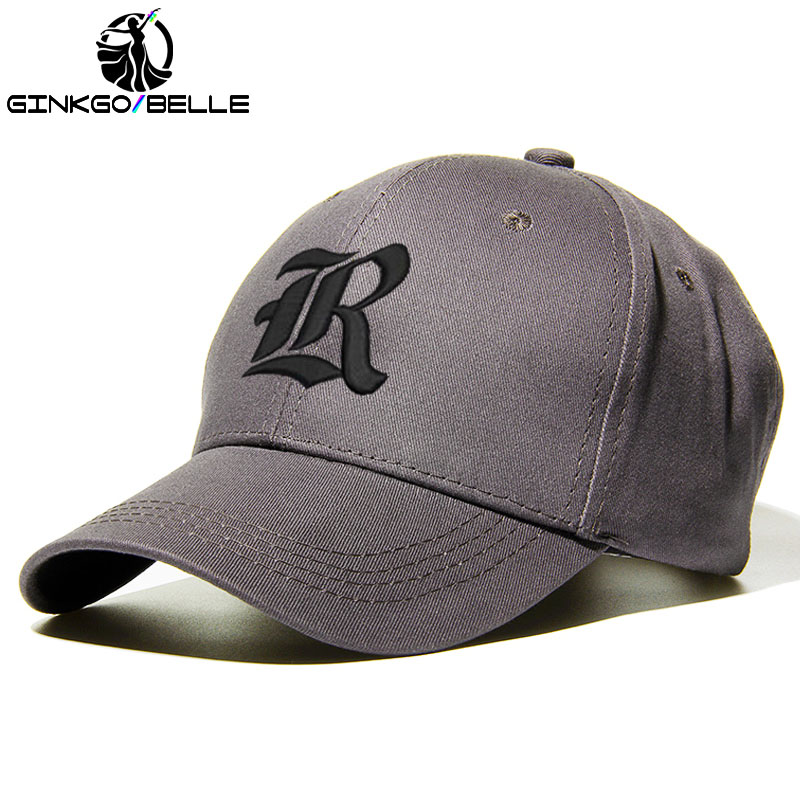 Custom Unisex Casual Hat Old English Letter Embroidery Cotton   Baseball     Cap   Hiphop DAD Hats Men Women Fashion Accessory Dropshipp