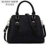 SUNNY SHOP Famous Brand Designer Handbags High Quality Women Bag Women Leather Handbags Fashion Handbag Shoulder